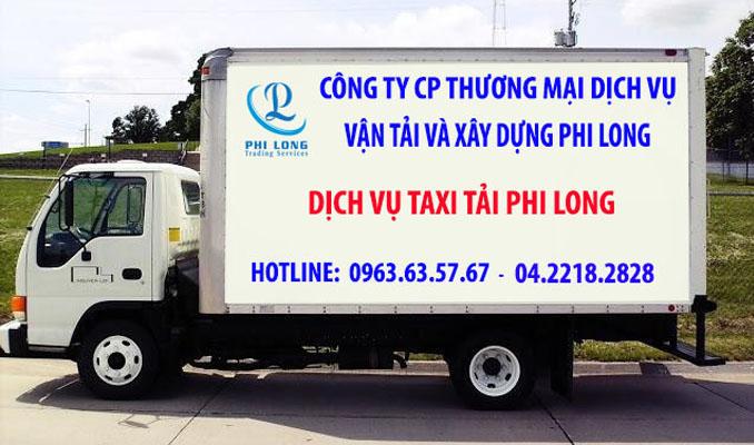 Phi Long taxi tải giá rẻ tại phố Đỗ Đình Thiện