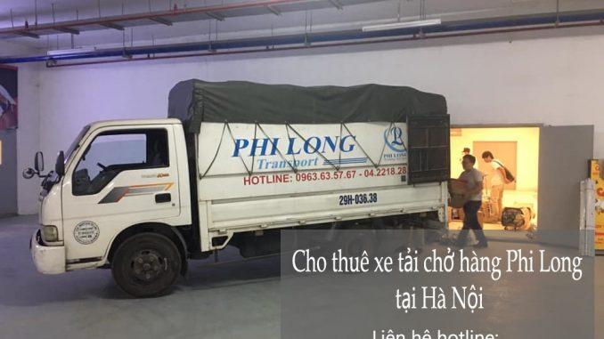 Dịch vụ taxi tải giá rẻ Phi Long tại phố Cao Xuân Huy