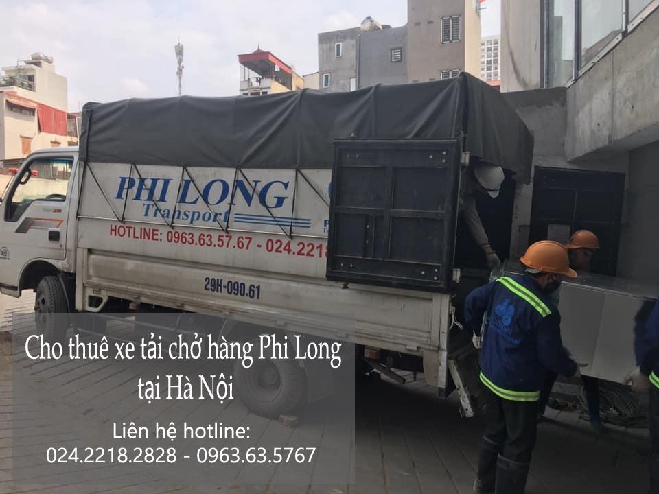 Dịch vụ xe tải giá rẻ Phi Long tại phố Đặng Thùy Trâm