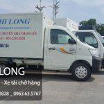 Dịch vụ taxi tải tại phố Hồng Quang