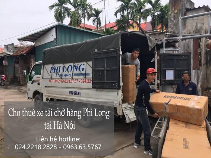 Dịch vụ taxi tải uy tín Phi Long tại phố Cổ Nhuế