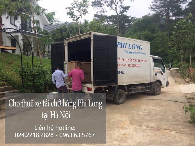 Dịch vụ taxi tải giá rẻ Phi Long tại phố Đỗ Đức Dục