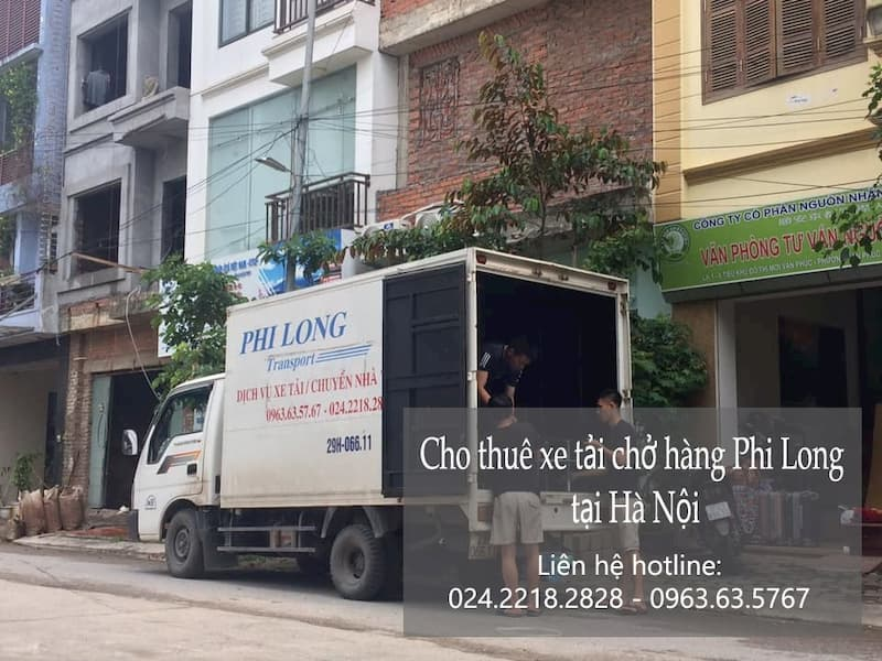Dịch vụ taxi tải chuyên nghiệp Phi Long tại phố Đỗ Nhuận