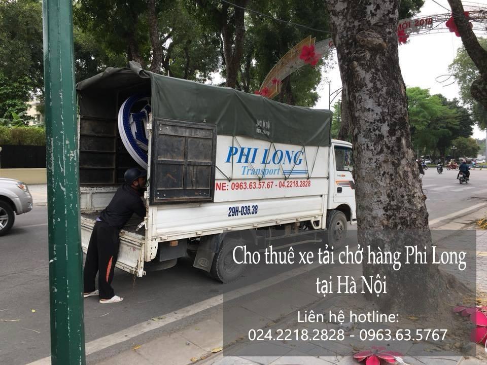 Dịch vụ taxi tải trọn gói Phi Long tại phố Đức Diễn