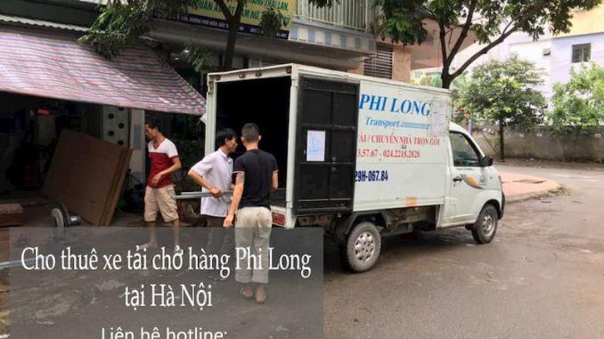 Cho thuê taxi tải giá rẻ Phi Long tại phố Cổ Điển