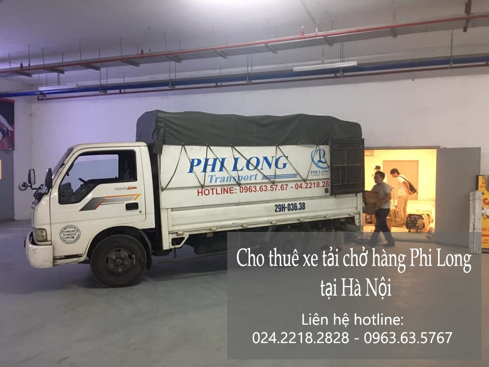 Taxi tải giá rẻ Phi Long tại phố Dương Quang