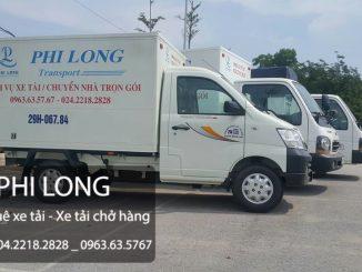 Dịch vụ taxi tải tại phường Hoàng Văn Thụ