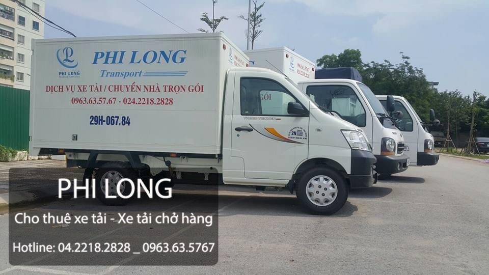 Dịch vụ taxi tải Phi Long tại phường Thịnh Liệt