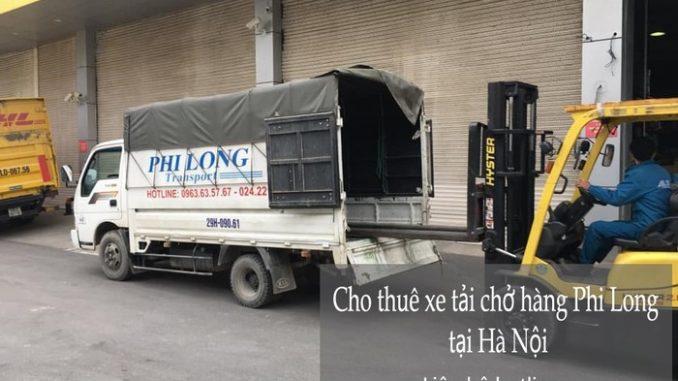 Xe tải chuyển nhà giá rẻ Phi Long tại phố Chiến Thắng