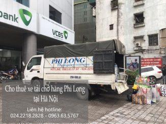 Dịch vụ giá rẻ taxi tải Phi Long tại phố Mậu Lương