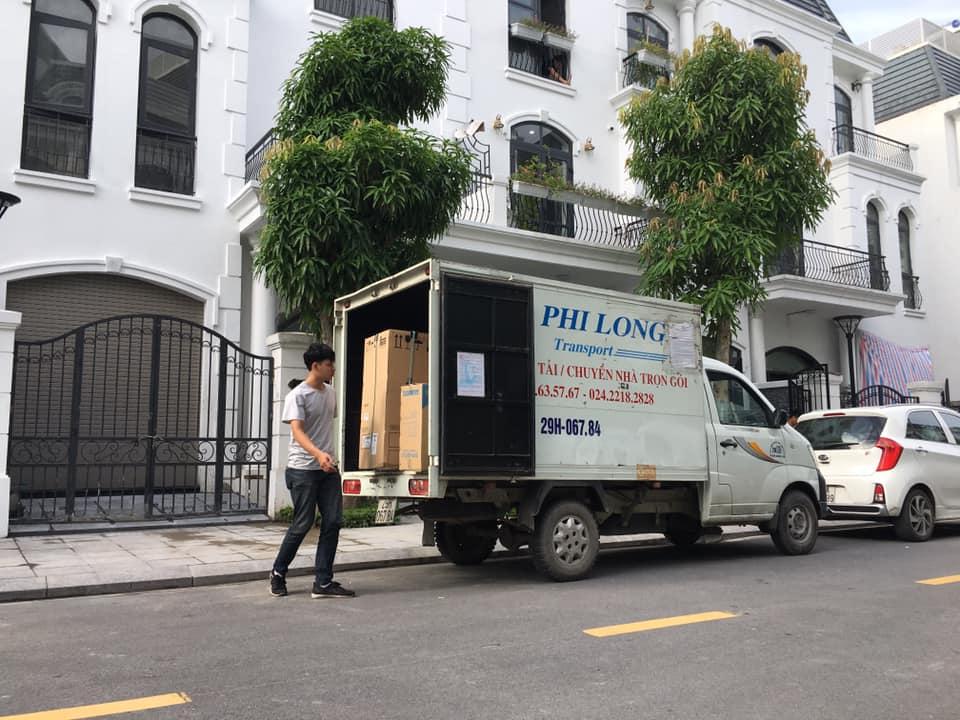 Xe tải chuyển nhà tại xã Kim Sơn