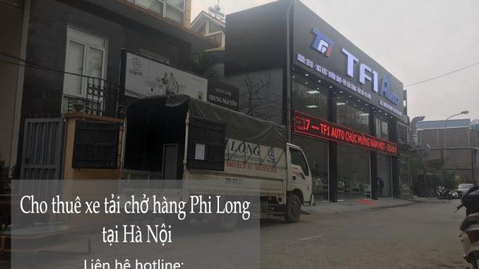 Hãng taxi tải giá rẻ Phi Long tại phố Bắc Sơn