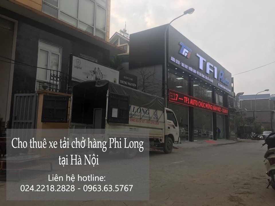 Hãng taxi tải giá rẻ Phi Long tại phố Đào Duy Tùng