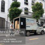 Taxi tải chở hàng tết Phi Long phố Láng Hạ