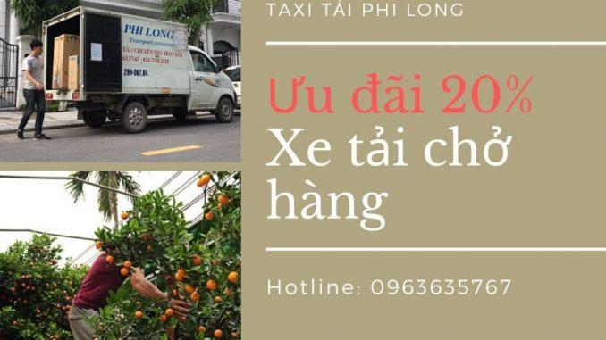 Taxi tải chở hàng Tết tại xã Tiên Dương