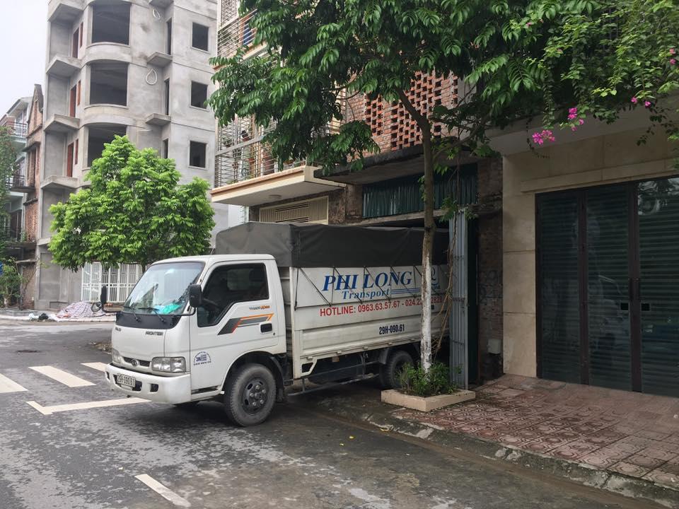Dịch vụ taxi tải tại xã Liên Hà