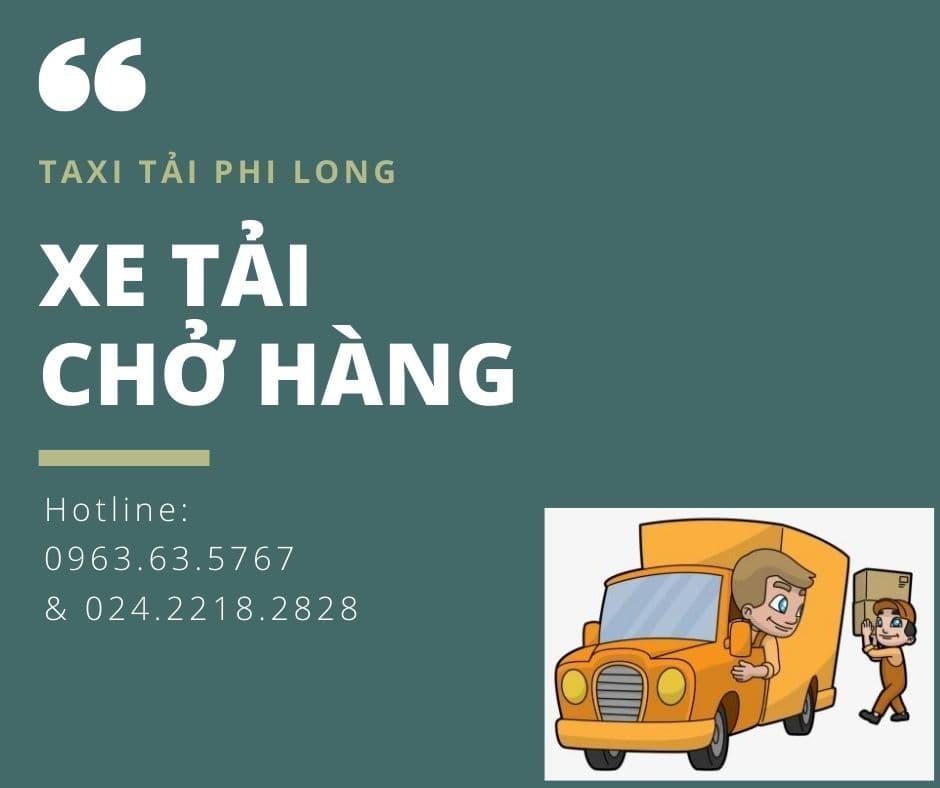 Dịch vụ taxi tải giá rẻ Phi Long tại xã Phú Yên