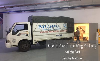 Dịch vụ taxi tải Phi Long tại xã Vân Từ