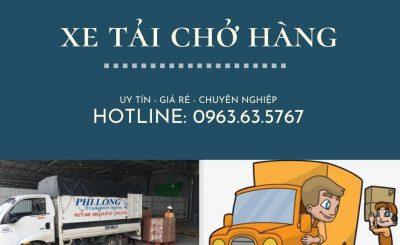 Dịch vụ taxi tải giá rẻ Phi Long tại xã Văn Nhân