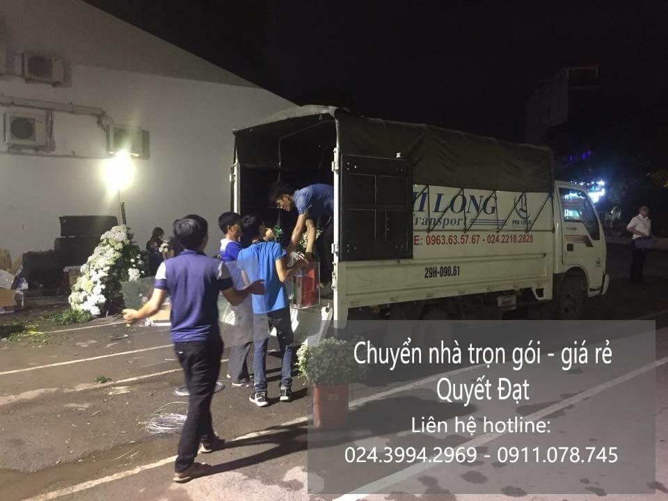 Dịch vụ taxi tải giá rẻ tại phường phúc đồng