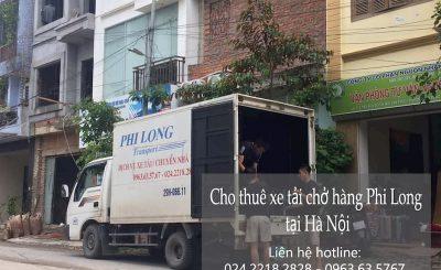 Dịch vụ taxi tải giá rẻ Phi Long tại phường việt hưng