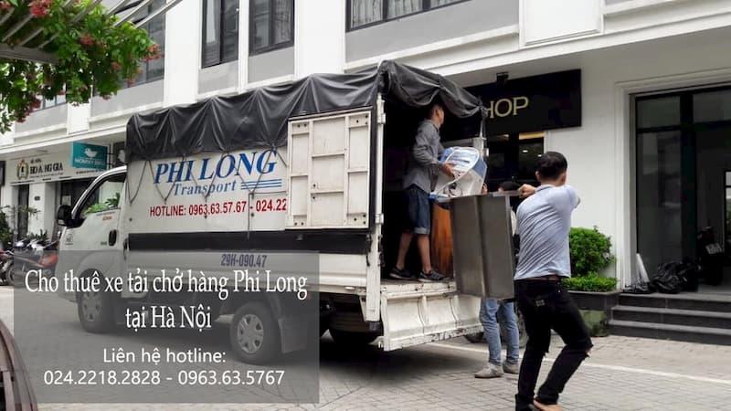 Dịch vụ taxi tải giá rẻ Phi Long tại phố Lê Văn Hưu