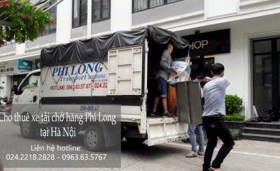 Dịch vụ taxi tải giá rẻ Phi Long tại phố Nguyễn Khoái
