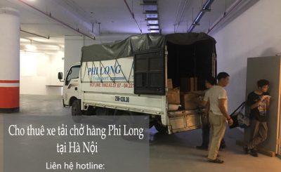 Dịch vụ taxi tải giá rẻ tại đường Thượng Thụy