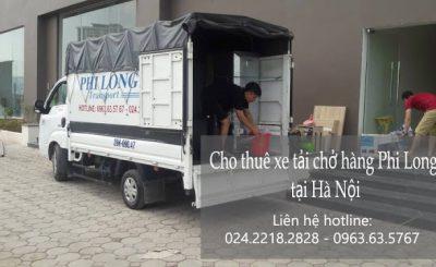 Dịch vụ taxi tải giá rẻ tại đường Trần Văn Cẩn