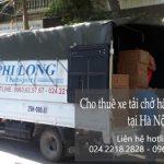 Dịch vụ taxi tải giá rẻ Phi Long tại đường phúc lợi