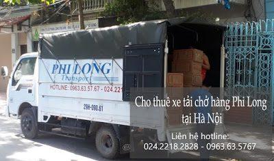 Dịch vụ taxi tải giá rẻ tại phố Pháo Đài Láng