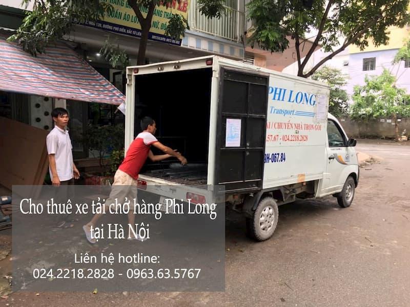 Dịch vụ taxi tải Phi Long tại phố Ngọc Trì
