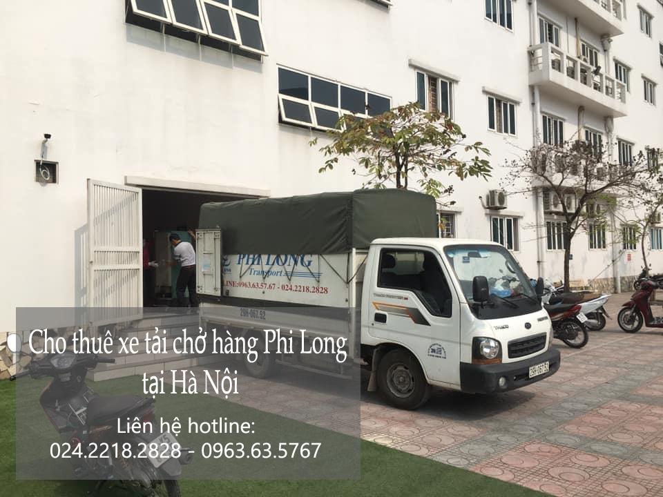 Dịch vụ taxi tải giá rẻ Phi Long tại đường đàm quang trung
