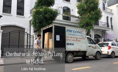 Dịch vụ taxi tải giá rẻ tại đường Tư Đình