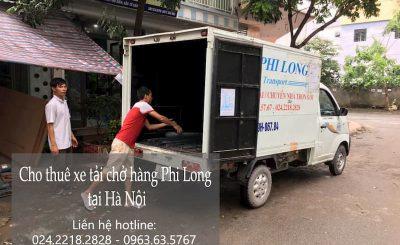 Dịch vụ taxi tải Phi Long tại đường Thạch Bàn