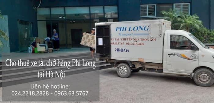 Taxi tải chở hàng nhanh gọn Phi Long phố Trần Đăng Ninh