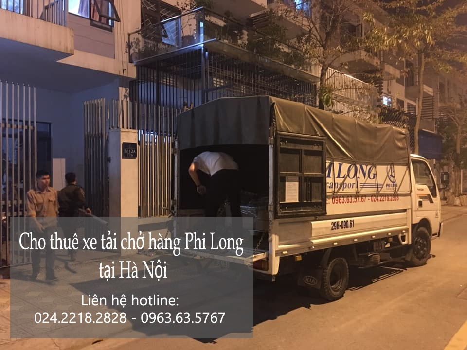 Dịch vụ taxi tải Phi Long tại đường Nguyễn Trực