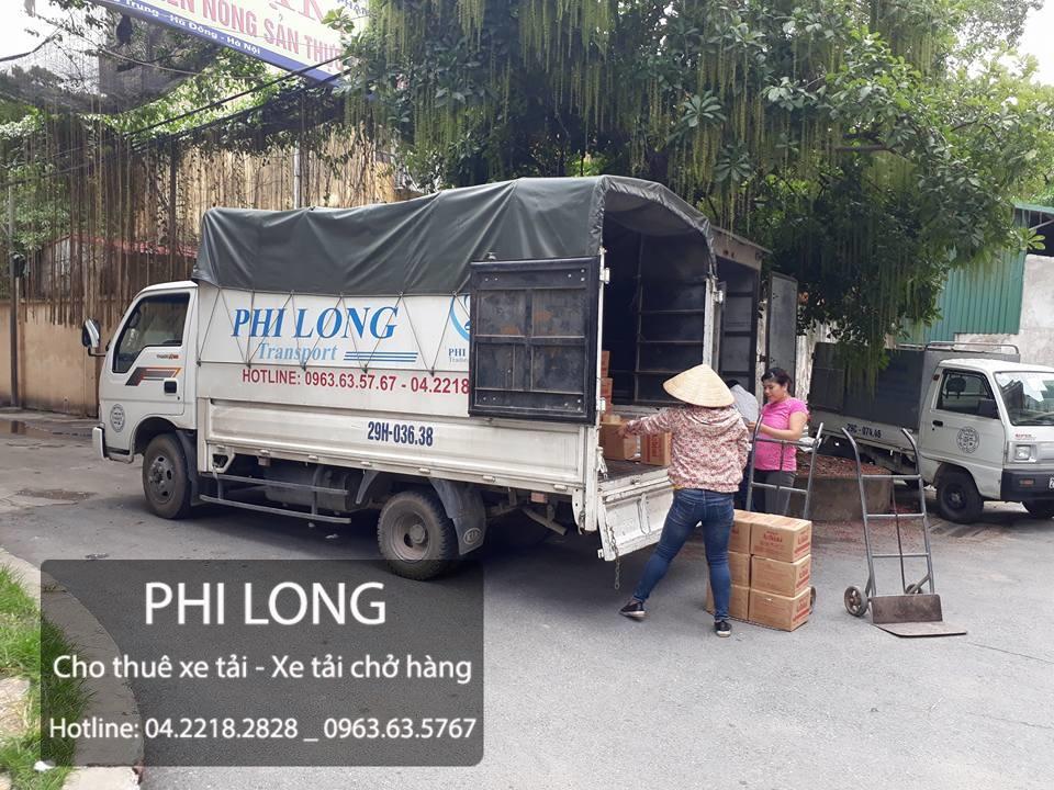 Dịch vụ taxi tải tại đường Xuân Đỗ