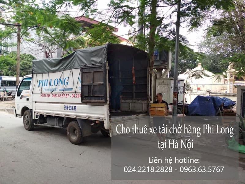 taxi tải giá rẻ Phi Long tại đường ngọc trì