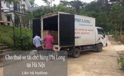 Dịch vụ taxi tải Phi Long tại đường Lĩnh Nam