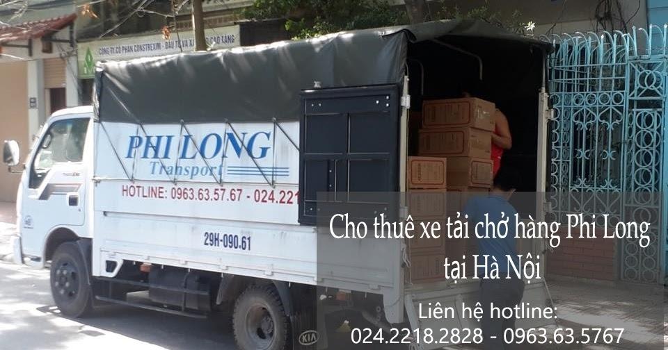 Taxi tải chở hàng nhanh gọn Phi Long đường Ngô Gia Tự