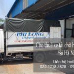 Dịch vụ taxi tải Phi Long tại quận Long Biên