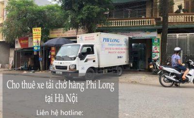 Phi Long taxi tải giá rẻ nhất tại đường Kim Giang đi quận Hoàn Kiếm