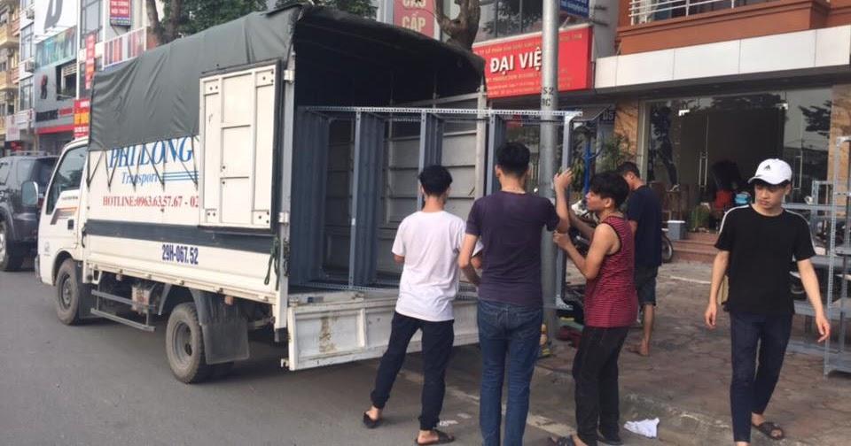 Xe tải chất lượng giá rẻ Phi Long tại khu đô Thị Trung Văn