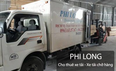 Taxi tải giá rẻ tại phố Trần Bình đi Ninh Bình