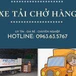 Dịch vụ taxi tải giá rẻ tại phố Kẻ Tạnh đi Hải Phòng