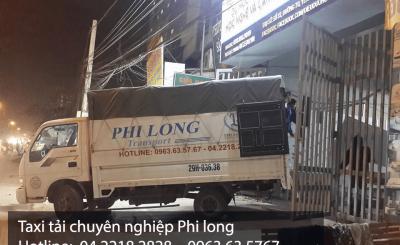 Taxi tải giá rẻ Phi Long tại đường Định Công đi Hà Nam