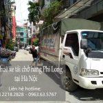 Taxi tải giá rẻ Phi Long phố Hàng Khay đi Quảng Ninh