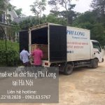 Taxi tải giá rẻ Phi Long đường Hồ Tùng Mậu đi Hải Phòng