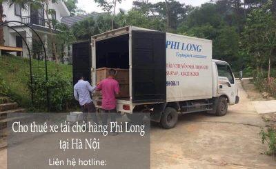 Taxi tải giá rẻ Phi Long từ đường Nam Dư đi Hà Nam
